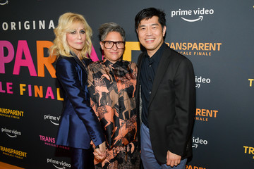 Jill Soloway Albert Cheng L.A. Premiere Of Amazon's 'Transparent Musicale Finale' - Red Carpet