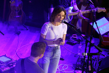 Jillian Jacqueline Spotify's Hot Country Presents Hunter Hayes, Chris Lane, And Michael Ray At Ole Red During CMA Fest