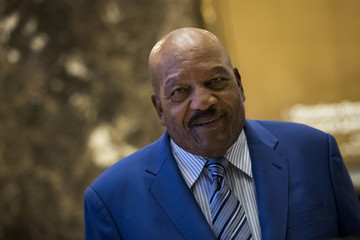 Jim Brown President-Elect Donald Trump Holds Meetings At Trump Tower