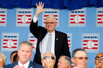 Jim Bunning Baseball Hall of Fame Induction Ceremony