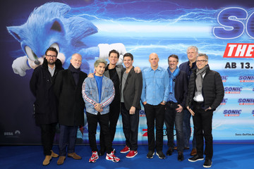Jim Carrey Jeff Fowler 'Sonic The Hedgehog' Special Screening In Berlin