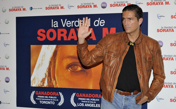 "Jim Caviezel Actor Jim Caviezel attends ""La Verdad de Soraya M"" photocall at the Palafox cinema on October 5, 2010 in Madrid, Spain."