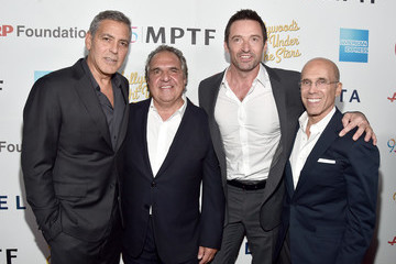 Jim Gianopulos Jeffrey Katzenberg MPTF Celebrates 95th Anniversary With 'Hollywood's Night Under the Stars' - Red Carpet