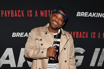 Jim Jones 'BREAKING IN' Star And Producer Gabrielle Union, & Producer Will Packer Attend A Private Screening At Regal Atlantic Station In Atlanta