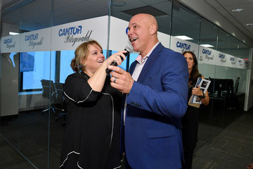 Jim Leyritz Annual Charity Day Hosted By Cantor Fitzgerald, BGC and GFI - Cantor Fitzgerald Office - Inside
