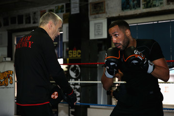 Jim McDonnell James DeGale Media Workout