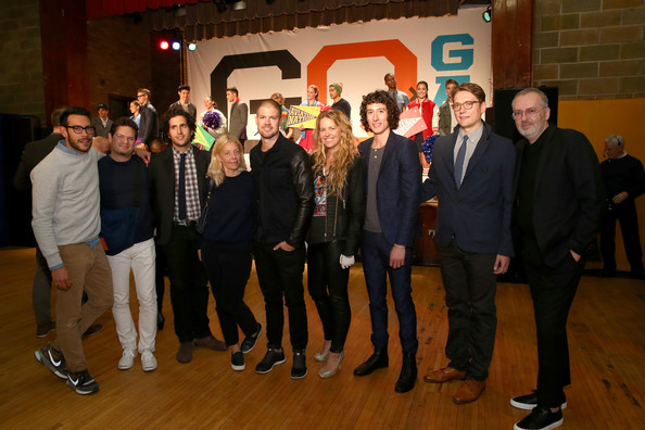 GQ and Gap Celebrate Best Menswear Collaborations [social group,event,team,formal wear,party,jim moore,tony kretten,liam fayed,sam fayed,best new menswear designers collaboration,l-r,gq gap,menswear designers collaboration,aviator nation,event]
