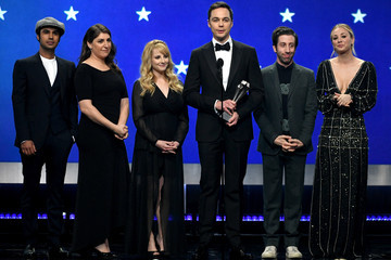 Jim Parsons Mayim Bialik The 24th Annual Critics' Choice Awards - Show