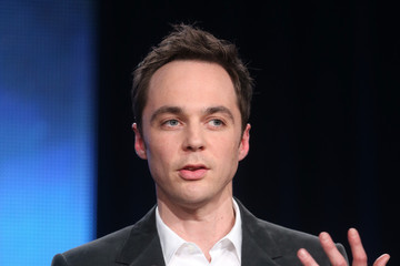Jim Parsons Winter TCA Tour: Day 1