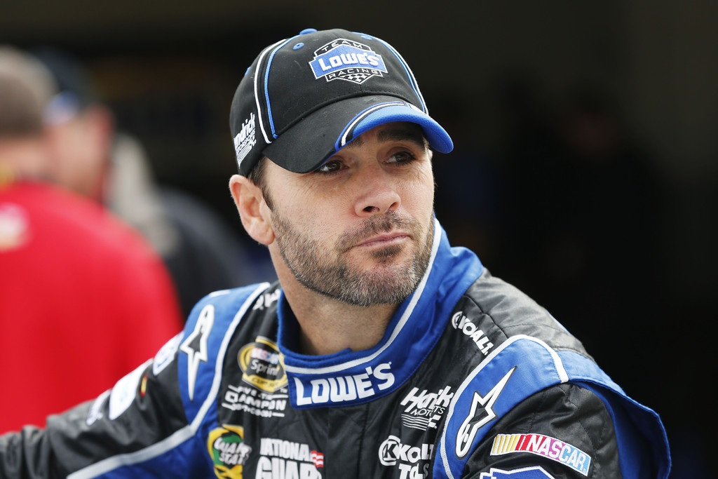Jimmie+Johnson+55th+Daytona+500+Day+2+SB