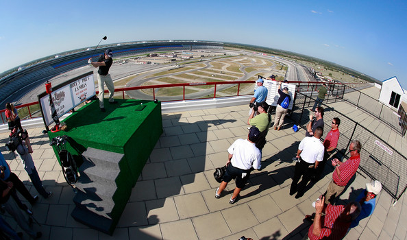 Jimmie johnson pictures jimmie johnson with pga golfer for Lone star motors fort worth texas