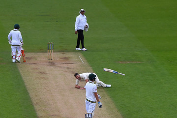 Jimmy Anderson England v South Africa - 3rd Investec Test: Day Two
