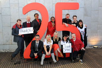 Jimmy Carr Helen Skelton 25 Years Of Comic Relief's Red Nose Day - Photocall