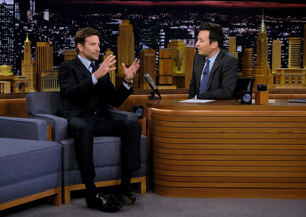 Bradley Cooper Visits 'The Tonight Show Starring Jimmy Fallon'