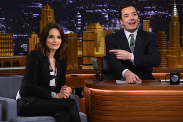 "Jimmy Fallon Tina Fey Visits ""The Tonight Show Starring Jimmy Fallon"""