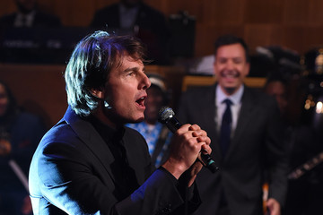 Jimmy Fallon Tom Cruise Visits 'The Tonight Show Starring Jimmy Fallon'