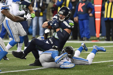 Jimmy Graham Wild Card Round - Detroit Lions v Seattle Seahawks