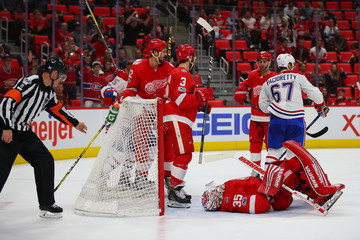 Jimmy Howard Montreal Canadiens v Detroit Red Wings