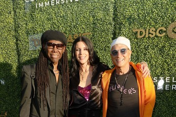 Jimmy Iovine The DiscOasis at the South Coast Botanic Garden with Groovemaster Nile Rodgers