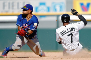 Jimmy Rollins Texas Rangers v Chicago White Sox