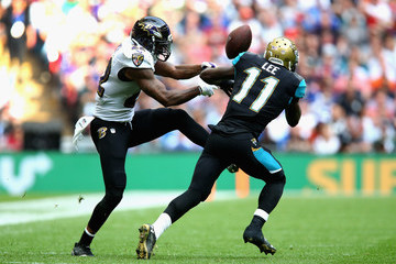 Jimmy Smith Baltimore Ravens v Jacksonville Jaguars