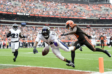 Jimmy Smith Baltimore Ravens vs. Cleveland Browns