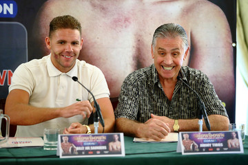 Jimmy Tibbs Andy Lee and Billy Joe Saunders Press Conference