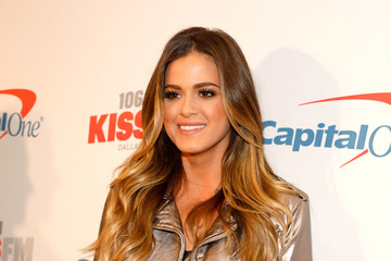 JoJo Fletcher 106.1 KISS FM's Jingle Ball 2016 - Press Room