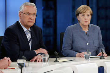 Joachim Herrmann Election Night: Candidates Face Television Interview Following Elections