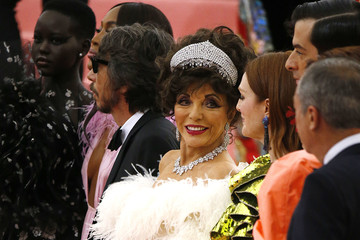 Joan Collins The 2019 Met Gala Celebrating Camp: Notes On Fashion - Arrivals