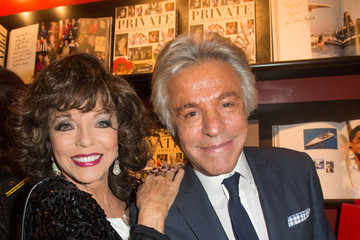 Joan Collins ASSOULINE Hosts a Book Launch in London