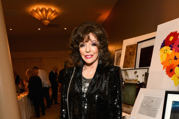 Joan Collins 25th Annual Race To Erase MS Gala - Cocktail Reception And Silent Auction
