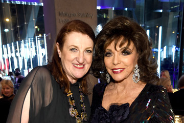 Joan Collins An Evening Honoring Valentino Lincoln Center Corporate Fund Black Tie Gala - Arrivals