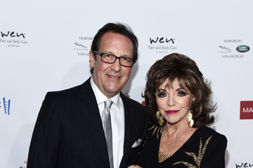 Joan Collins Percy Gibson Mark Zunino Atelier Hosts Cocktail Reception Benefiting The Elizabeth Taylor AIDS Foundation