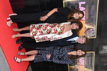 """Joan Collins Tiffany Lerman """"Lady Boss: The Jackie Collins' Story"""" UK Premiere - Photocall"""