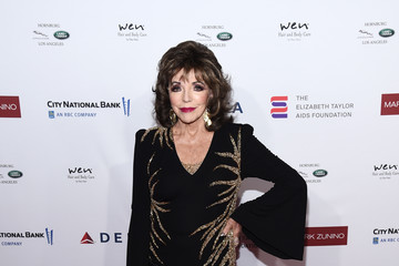 Joan Collins Mark Zunino Atelier Hosts Cocktail Reception Benefiting The Elizabeth Taylor AIDS Foundation