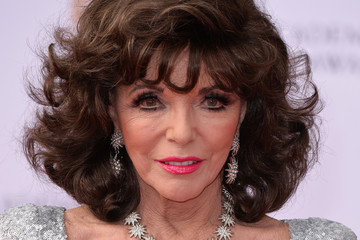 Joan Collins Virgin TV BAFTA Television Awards - Red Carpet Arrivals