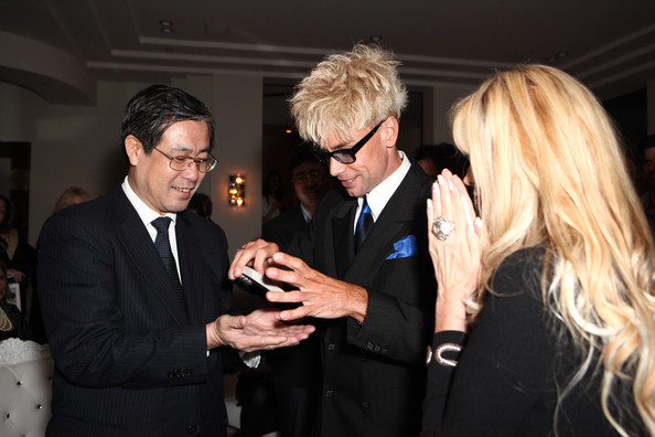 Joan Dangerfield Hosts Dinner Reception At Her Residence For Chinese Delegation's Official U.S. Visit