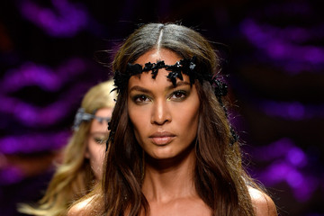 Joan Smalls Models Walk for Atelier Versace During Paris Fashion Week