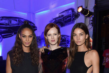 Joan Smalls Lily Aldridge Givenchy SS16 After-Party