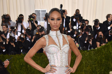 Joan Smalls 'Manus x Machina: Fashion In An Age of Technology' Costume Institute Gala - Arrivals