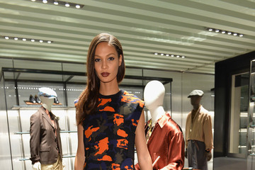 Joan Smalls Prada Iconoclasts by Edward Enninful - Milan Fashion Week Womenswear Autumn/Winter 2014