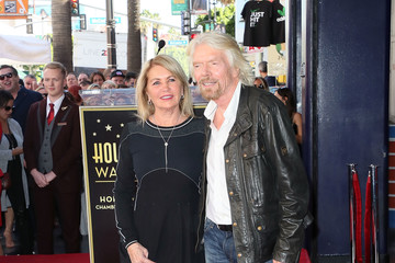 Joan Templeman Sir Richard Branson Honored With Star On The Hollywood Walk Of Fame