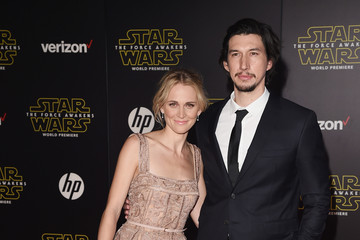 Joanne Tucker Premiere 'Star Wars: The Force Awakens' - Arrivals