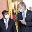 Joao Manuel Goncalves Lourenco Spanish Royals Host A Lunch With The President Of Angola