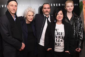 Joaquin Phoenix Judith Roberts 'You Were Never Really Here' New York Premiere