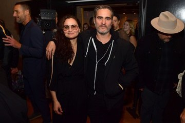 """Joaquin Phoenix Rain Phoenix Joaquin Phoenix Hosts Release Party For His Sister Rain Celebrating Her New Album """"RIVER"""""""