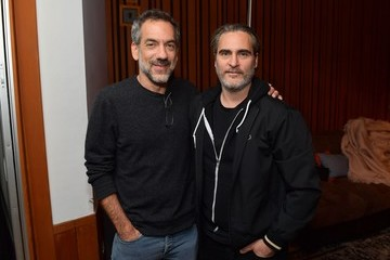 "Joaquin Phoenix Todd Phillips Joaquin Phoenix Hosts Release Party For His Sister Rain Celebrating Her New Album ""RIVER"""