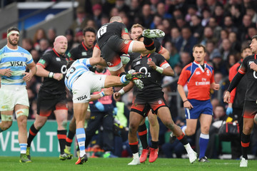 Joaquin Tuculet England v Argentina - Old Mutual Wealth Series
