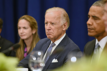 Joe Biden President Obama Meets With the Iranian PM in New York